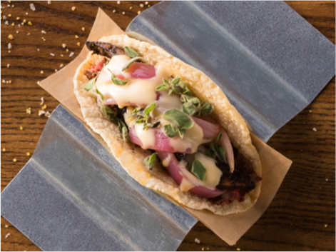 Order Online Link - Grilled Flank Steak Taco from Velvet Taco
