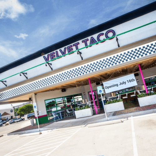 Velvet Taco reaches north, to a new Dallas neighborhood