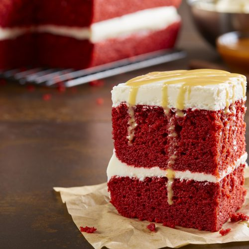 When you really shouldn't bring tacos, bring red velvet cake!
